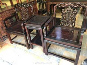 深圳回收红木家具,沙发,茶几,太师椅
